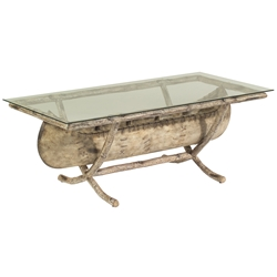 Woodard River Run Canoe Coffee Table - S545213