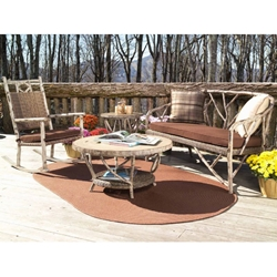 Woodard River Run 4 Piece Patio Set - WC-RIVERRUN-SET2