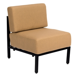Woodard Salona Armless Sectional Chair - 3Z0462