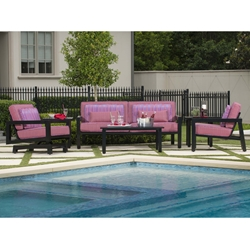 Woodard Soho Modern Outdoor Furniture Set - WD-SOHO-SET1