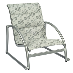 Woodard Tribeca Padded Sling Sand Chair - Stackable - 5D0540