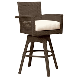 Woodard Trinidad Swivel Bar Stool - 6U0068J