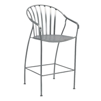 Woodard Valencia Stationary Bar Stool - 310081