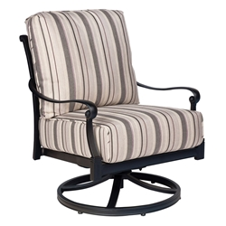 Woodard Wiltshire Swivel Rocking Lounge Chair - 4Q0465