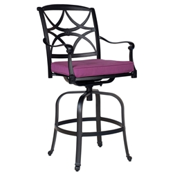Woodard Wiltshire Swivel Bar Stool - 4Q0468