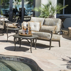 Woodard Wiltshire Loveseat Outdoor Furniture Set - WD-WILTSHIRE-SET6