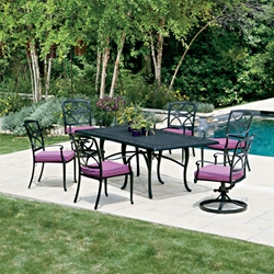 Woodard Wiltshire 7 Piece Patio Dining Set - WD-WILTSHIRE-SET1