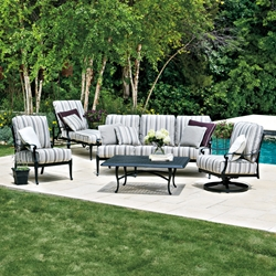 Woodard Wiltshire 5 Piece Patio Lounge Set - WD-WILTSHIRE-SET2