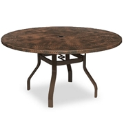 Hammered Metal Tables